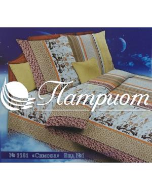 КПБ 1.5 спальный Симона, набивная бязь 142 гм2 1181