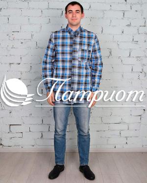 Рубашка мужская фуле